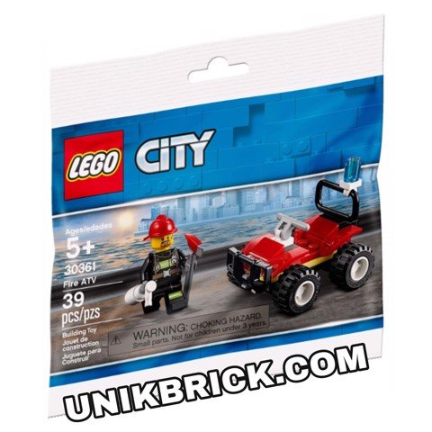 LEGO City 30361 Fire ATV Polybag
