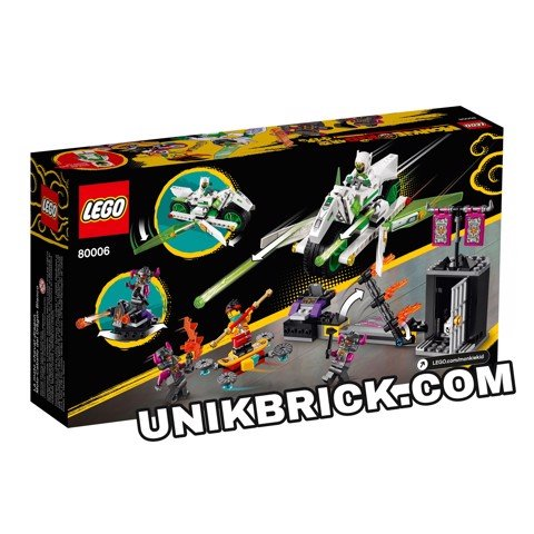 [HÀNG ĐẶT/ ORDER] LEGO Monkie Kid 80006 White Dragon Horse Bike