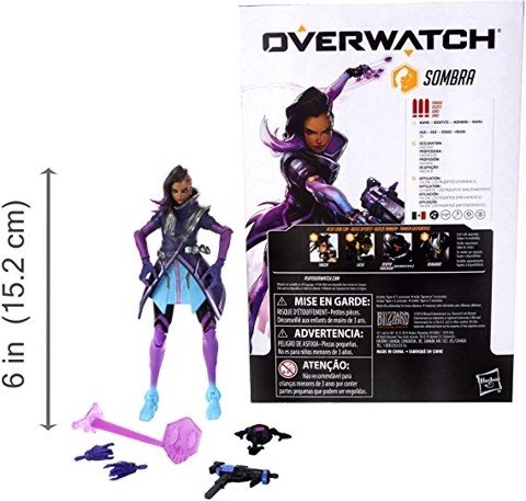 [CÓ HÀNG] Hasbro Overwatch Ultimates 6 Inch Sombra Action Figure