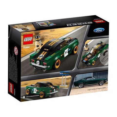 [HÀNG CÓ SẴN] LEGO Speed Champions 75884 1968 Ford Mustang Fastback