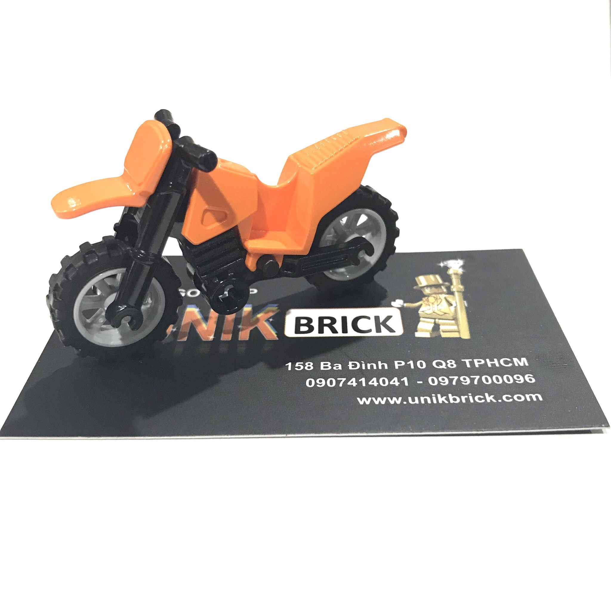 LEGO Orange Motorbike (No.4)