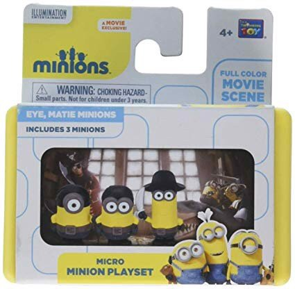 THINKWAY TOYS Micro Minion Playset Eye, Matie Minions