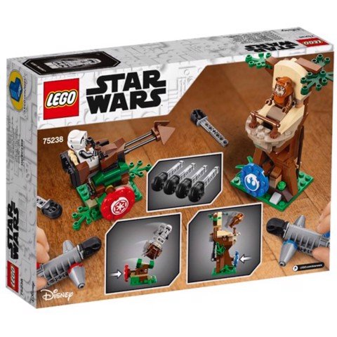[CÓ HÀNG] LEGO Star Wars 75238 Action Battle Endor Assault