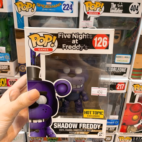 [CÓ SẴN] FUNKO POP 126 Shadow Freddy