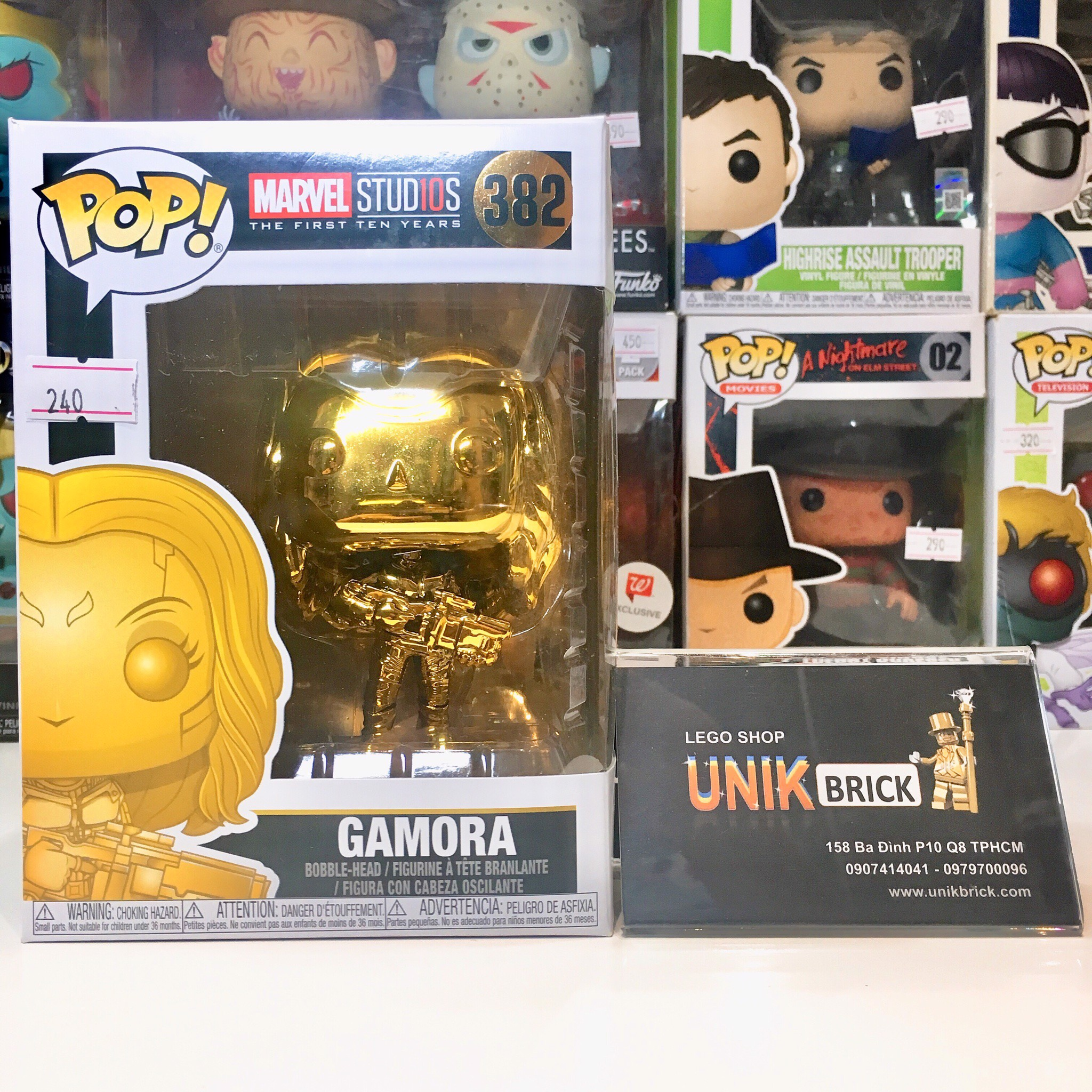 FUNKO POP Super Heroes 382 Gamora