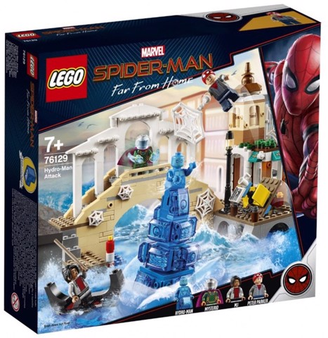 [CÓ SẴN] LEGO Marvel Super Heroes 76129 Hydro Man Attack
