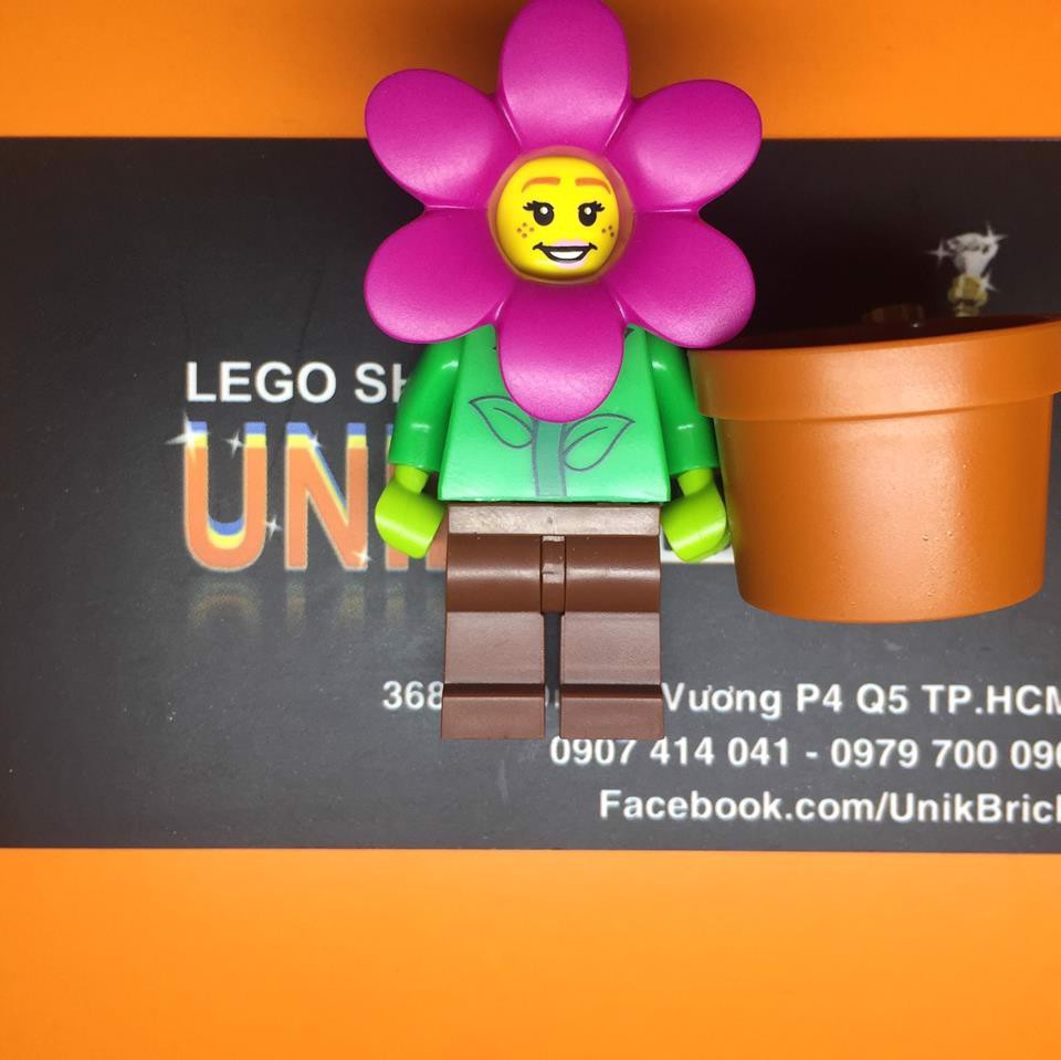 LEGO Flower Pot Girl Series 18 Collectibles Minifigures