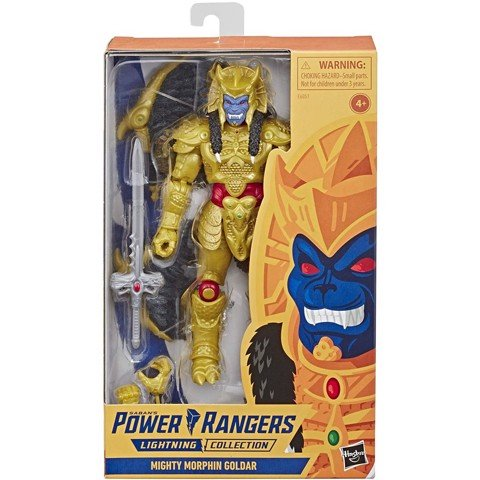 [CÓ HÀNG] Hasbro Power Rangers Lightning Collection 6 Inch Goldar Collectible Action Figure Exclusive