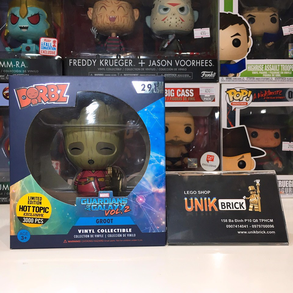 FUNKO DORBZ 291 Groot Limited 3000pcs Edition