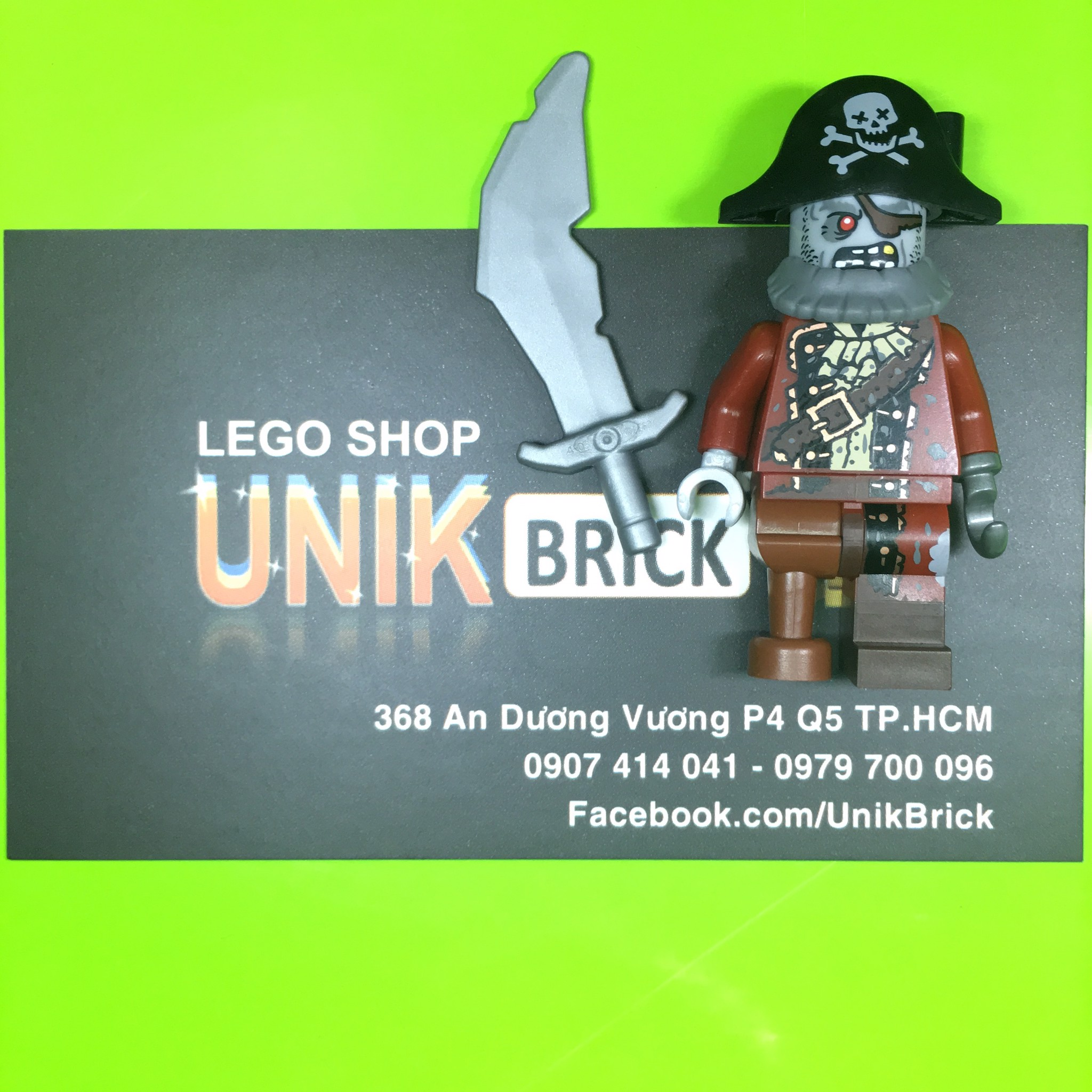 LEGO Zombie Pirate (Series 14)