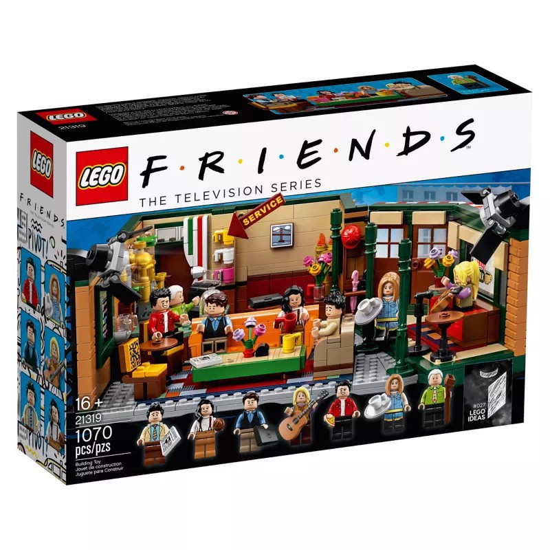 [CÓ HÀNG] LEGO IDEAS 21319 FRIENDS Central Perk The Televisions Series