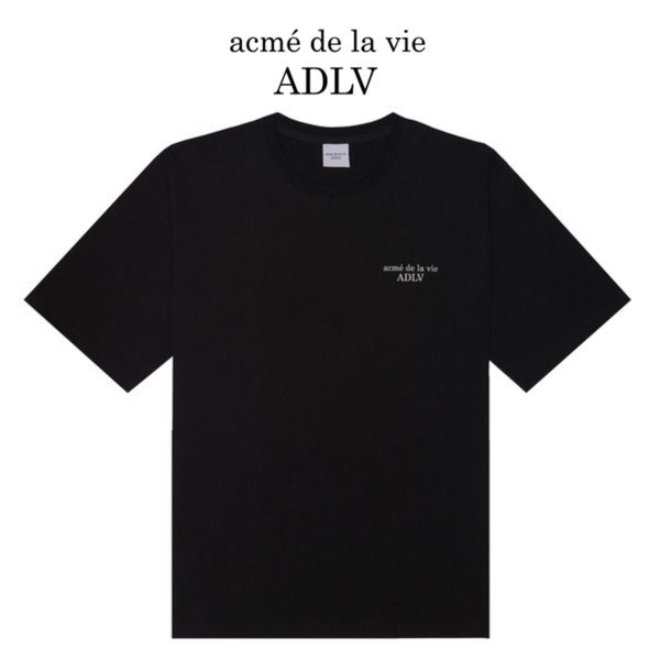 Áo ADLV Basic Short Sleeve 2 Black Tee