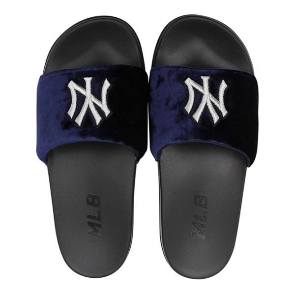 Dép MLB SUPER CARPET - NY Yankees - Black / Navy