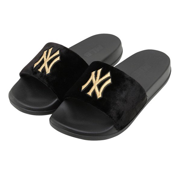 Dép MLB SUPER CARPET - NY Yankees - Black