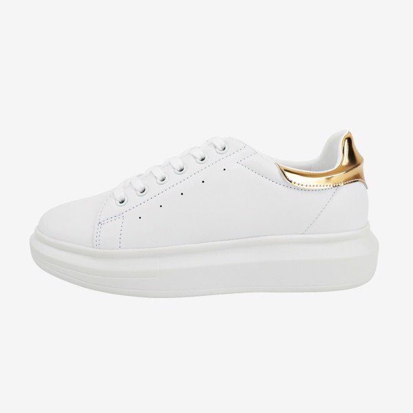 Giày Domba Highpoint Sneakers - Gold Metal - H-9117