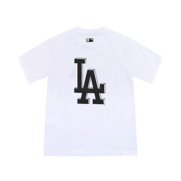 Áo thun MLB - BASIC BACK BIG LOGO SHORT SLEEVE T-SHIRT LA DODGERS - 31TS03131-07W