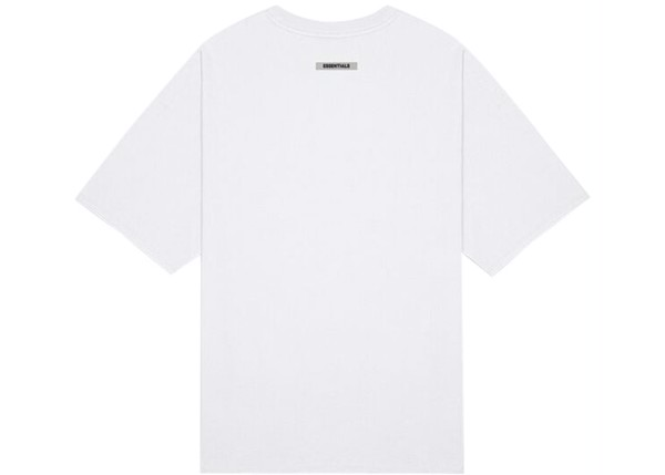 Áo thun - Fear Of God Essentials - 3D Silicon Applique Boxy T-Shirt - White