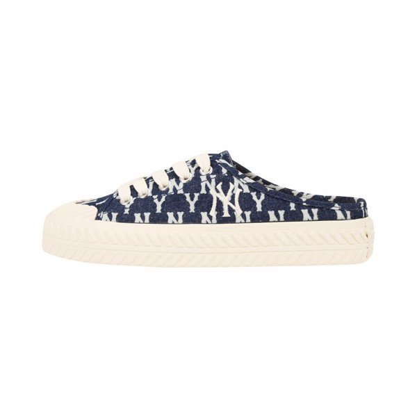 GIÀY MLB - Playball Origin Mule -  Monogram Denim