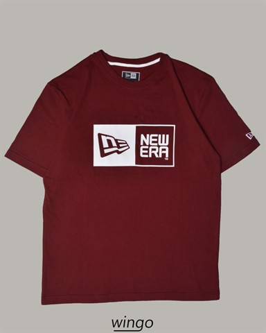 New Era Logo NE T-Shirt Plum