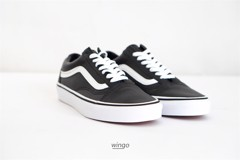 Vans Old Skool Leather Black White
