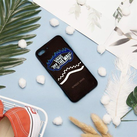 Van.s Case I.phone 5-5s Logo Flame Blue