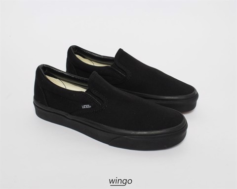 Vans Slip On All Black Classic