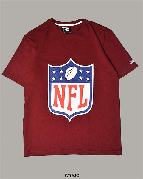 New Era NFL Logo T-Shirt Plum