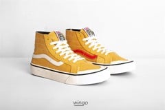 Vans Sk8 Hi 138 Decon V66 Zine Honey Gold