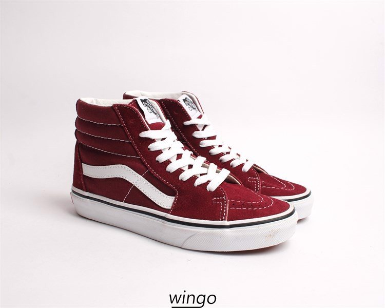 Vans Sk8 Bordeaux / True White