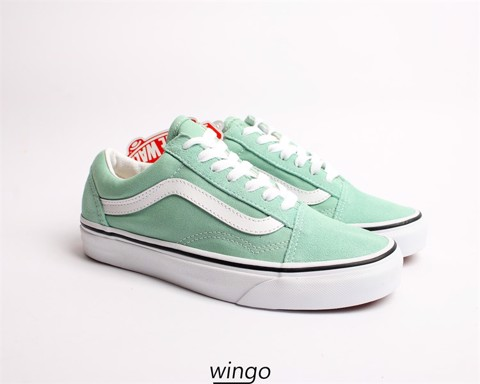 Vans Old Skool Light Green / White