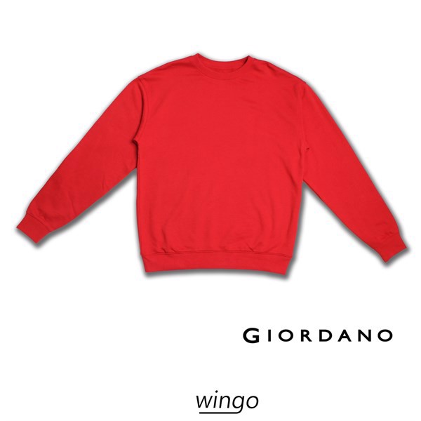 Giordano Classic Sweater Red