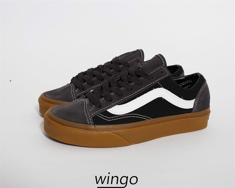 Vans Old Skool Style 36 Dark Grey / Gum
