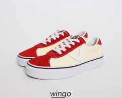 Vans Sport Suede Racing Red/Classic White