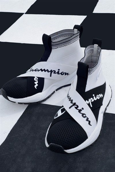 Champion Rally Sneaker (Black / White)