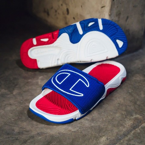 Champion Hyper Catch Sandal (Blue / White / Red)