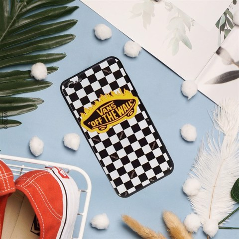 Vans Case Iphone 5-5s Logo Flame Yellow