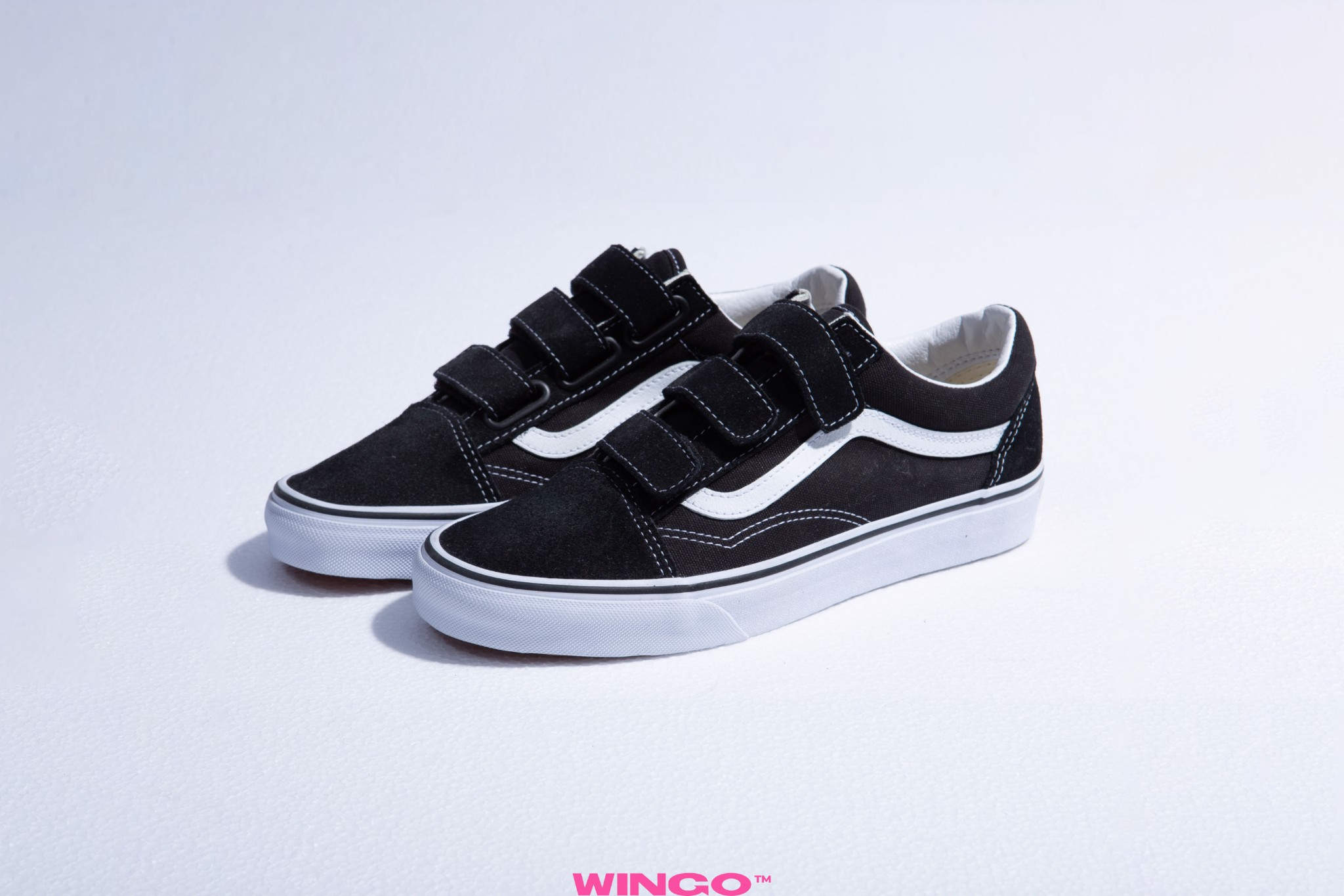Vans Old Skool V Strap Black