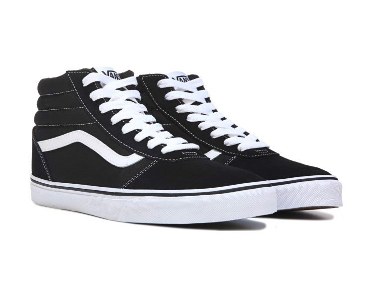 Vans Ward High Suede Black/White
