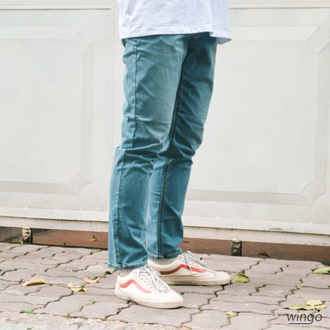 Spao Cool Slim Jeans Light Indigo
