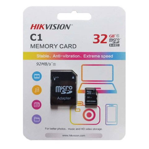 Thẻ nhớ Micro SD 32Gb HIKVISION HS-TF-C1
