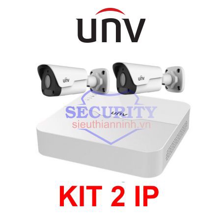 BỘ KIT UNV 2 CAMERA IP
