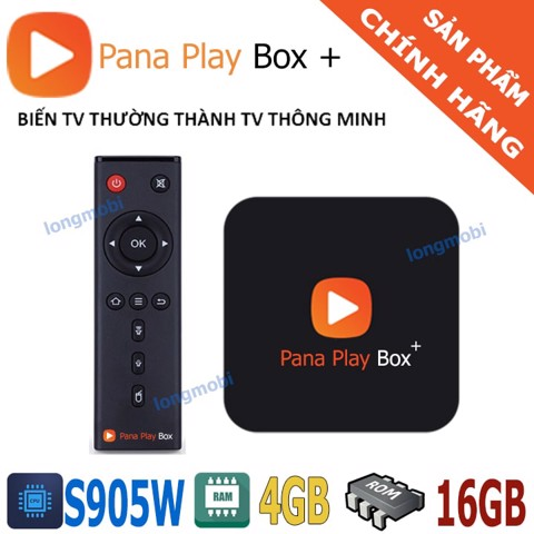 PANA PLAY BOX ỨNG DỤNG CAMERA
