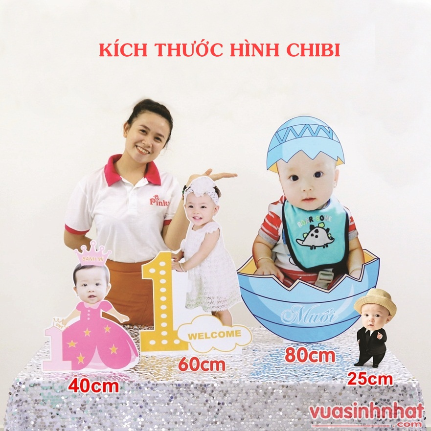 Hình Chibi Cho bé gái G010