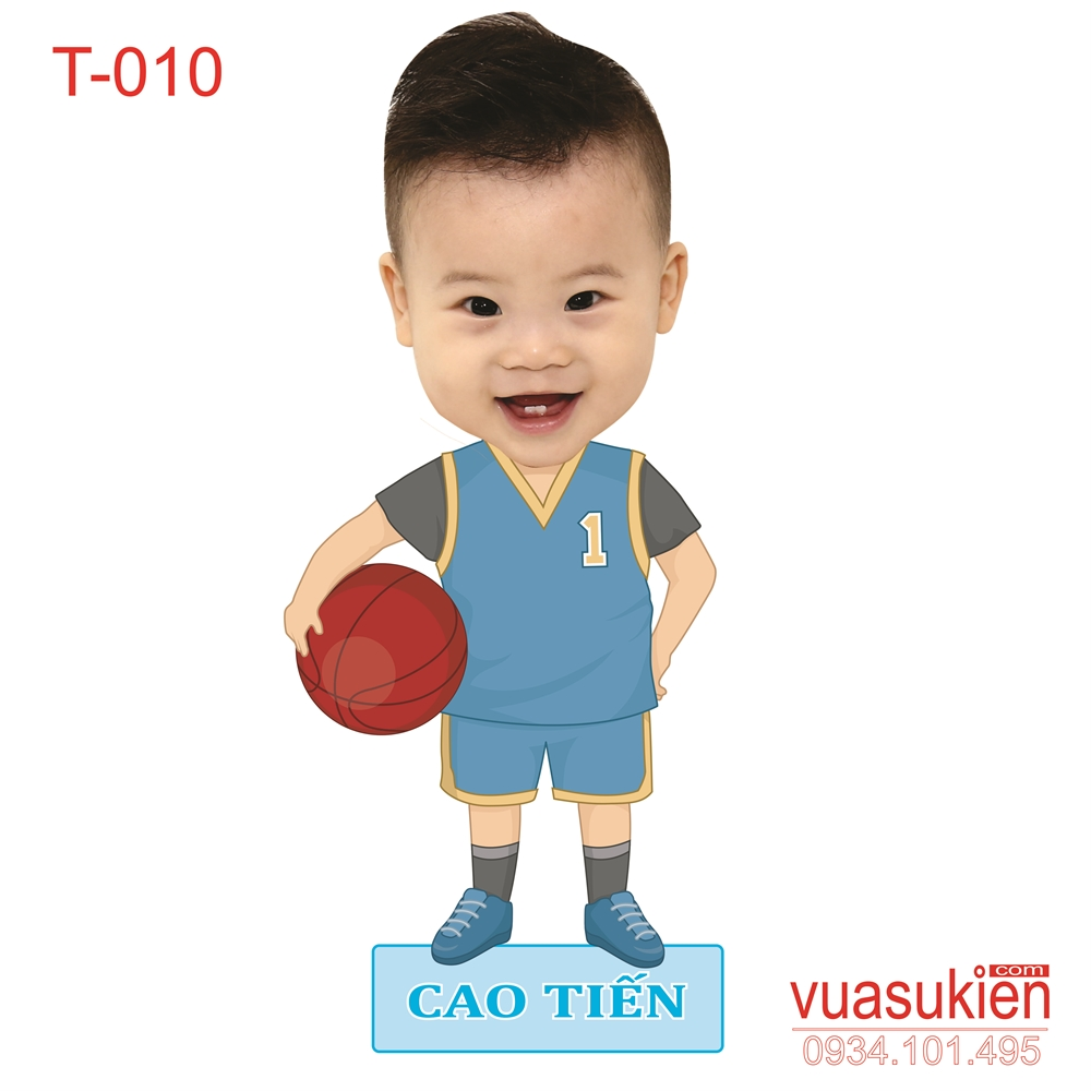 Hình Chibi Cho bé trai T010