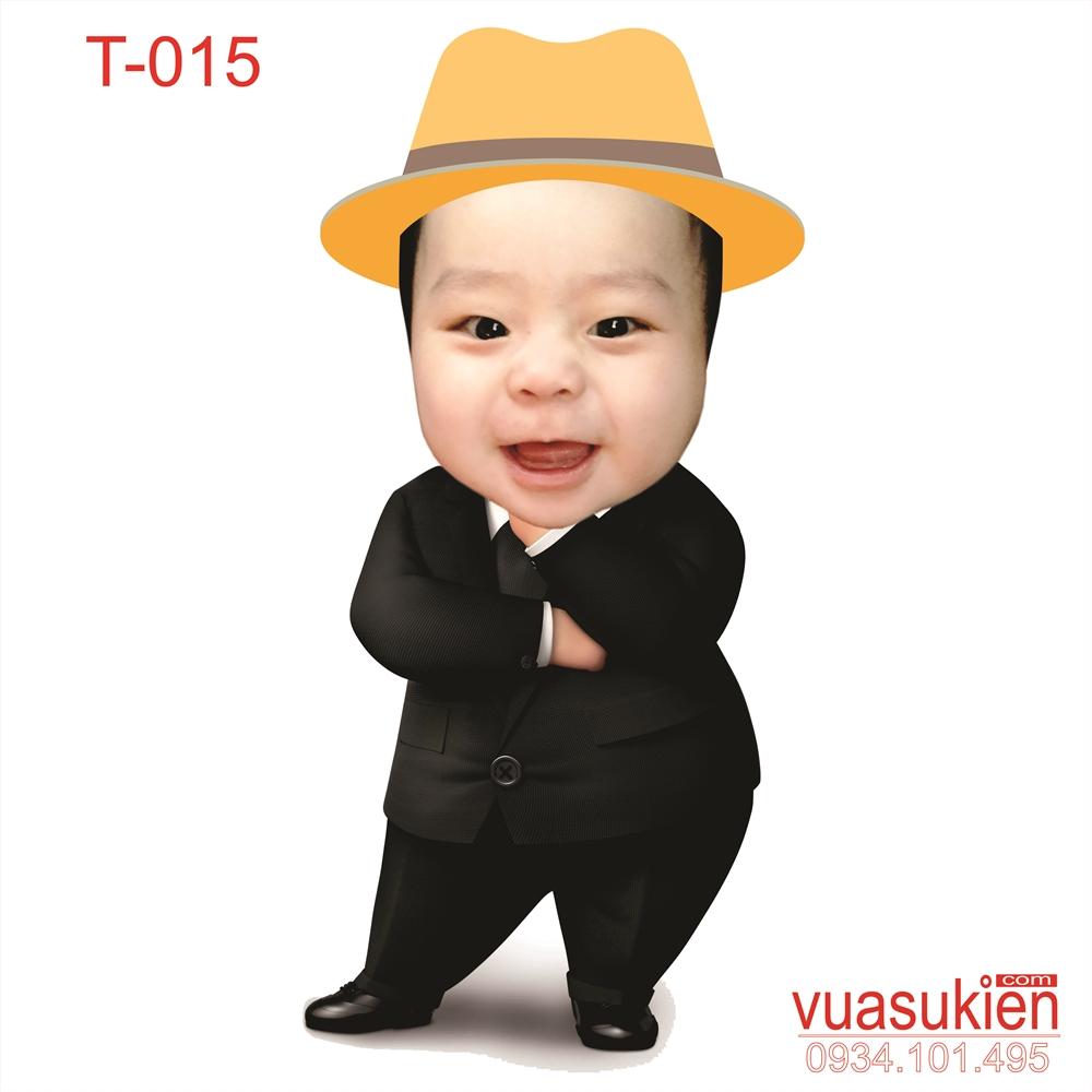 Hình Chibi Cho bé trai T015