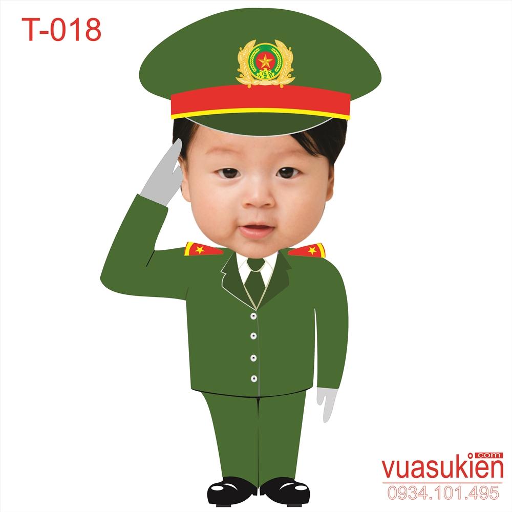 Hình Chibi Cho bé trai T018
