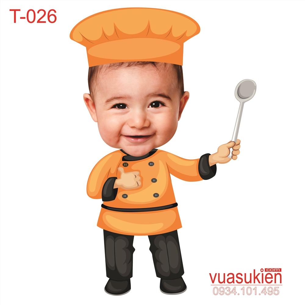 Hình Chibi Cho bé trai T026