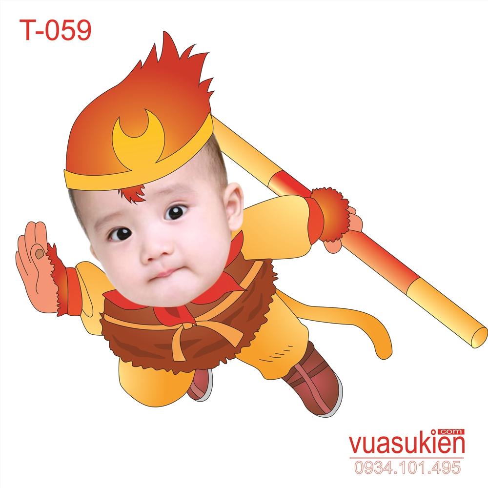 Hình Chibi Cho bé trai T059