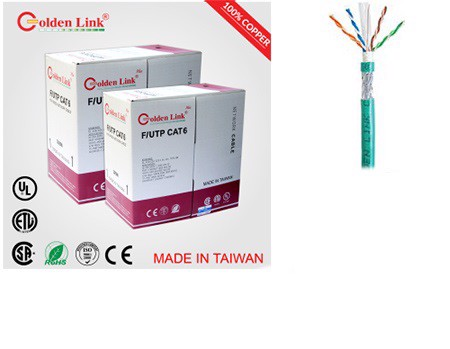 Cáp Mạng Golden link cat6 FTP  DHD
