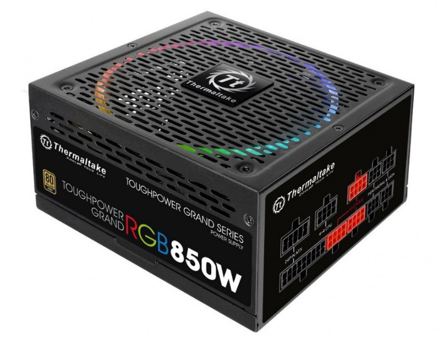 Nguồn Thermaltake Toughpower Grand 850W RGB - Gold PS-TPG-0850FPCGEU-R